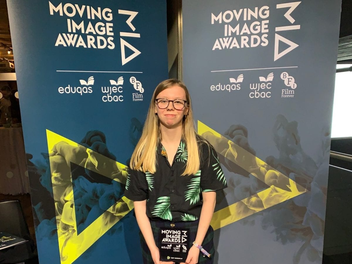 Screenwriting award success for ex-Holgate and HSFC student