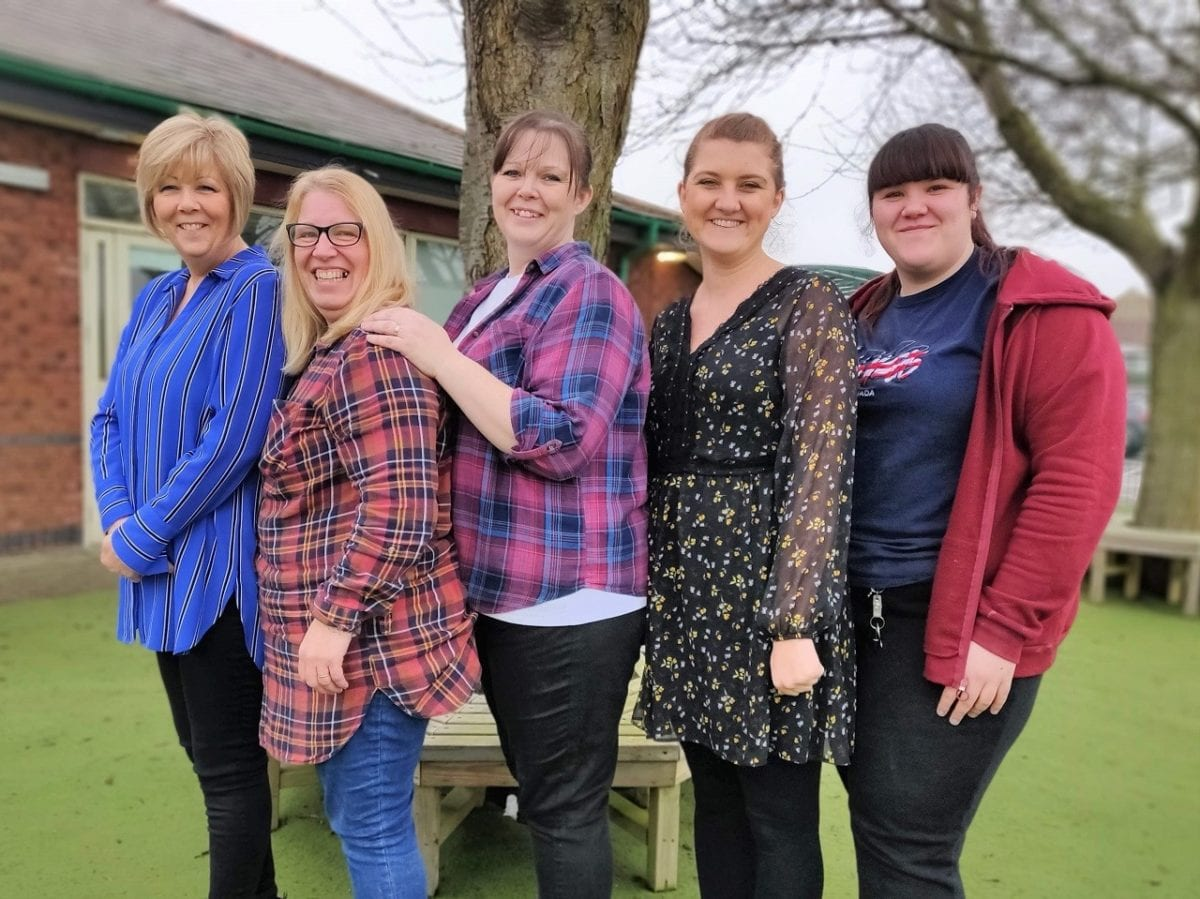Autism Professionals Awards recognition for Yeoman Park staff