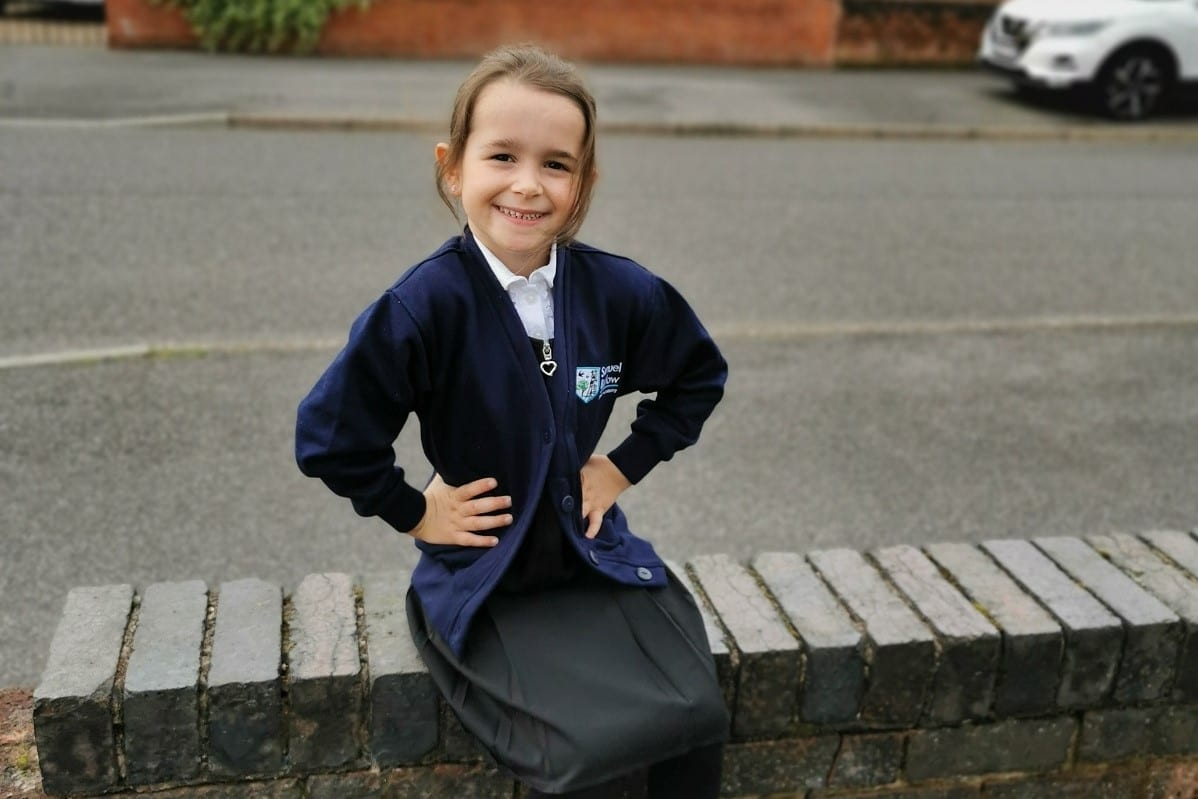 New uniform launched at Samuel Barlow Primary Academy